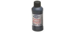 This odorless ink is primarily used to reink rubber stamp pads and self-inking Mark printers.  It's a vivid, non-smearing, relatively quick-drying ink on standard paper stock and cardboard.